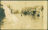 Flooded Street in Beaumont
