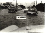 11th Street During Flood