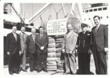 100,000th Bale of Cotton During 1958-1959 Season at Port of Beaumont