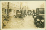 Flood of Crowded Beaumont Street